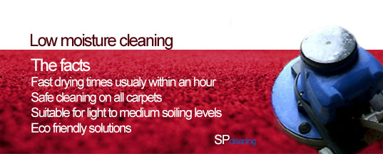 Fast Dry Chem Free Carpet Cleaning